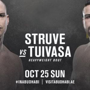 Видео боя Стефан Штруве — Тай Туиваса UFC 254