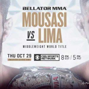 Прямая трансляция Bellator 250: Даглас Лима — Гегард Мусаси