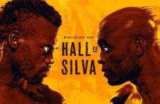 Прямой эфир UFC Fight Night 181: Юрайа Холл — Андерсон Сильва. Смотреть онлайн