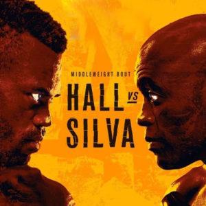 Прямая трансляция UFC on ESPN+ 39: Юрайа Холл — Андерсон Сильва