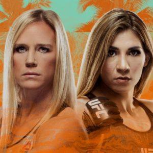 Прямой эфир UFC on ESPN 16: Холли Холм — Ирен Алдана. Смотреть онлайн