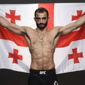 Видео боя Гига Чикадзе — Джейми Симмонс UFC Fight Night 182