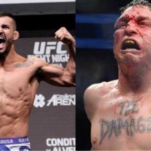 Видео боя Даррен Элкинс — Эдуардо Гарагорри UFC Fight Night 182