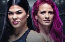 Видео боя Джина Мазани — Рейчел Остович UFC on ESPN 18