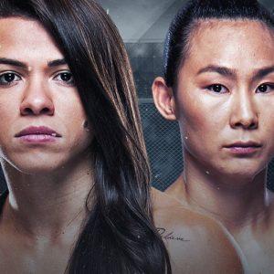 Видео боя Клаудиа Гаделья — Янь Сяонань UFC Fight Night 182
