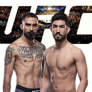 Видео боя Луис Смолка — Хосе Киньонес UFC Fight Night 182