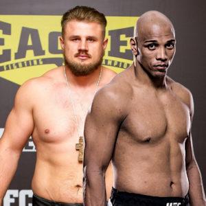 Видео боя Маркос Рожерио — Александр Романов UFC Fight Night 182