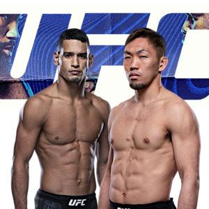 Видео боя Мигель Баеза — Такаси Сато UFC on ESPN 18