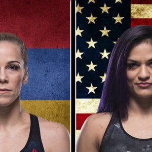 Видео боя Синтия Кальвильо — Кэтлин Чукагян UFC 255