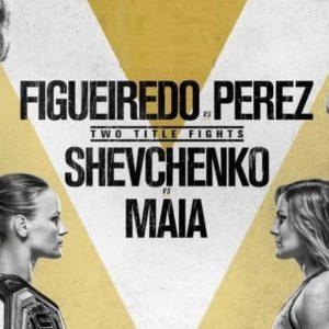Прямой эфир UFC 255: Дейвисон Фигейреду — Алекс Перес, Валентина Шевченко — Дженнифер Майя. Смотреть онлайн