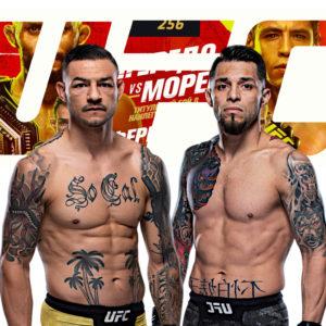 Видео боя Даниэль Пинеда — Каб Свонсон UFC 256