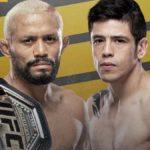Видео боя Дейвисон Фигейреду — Брэндон Морено UFC 256