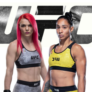 Видео боя Джиллиан Робертсон — Тайла Сантос UFC Fight Night 183