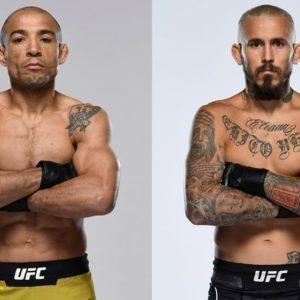 Видео боя Жозе Альдо — Марлон Вера UFC Fight Night 183
