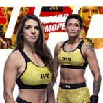 Видео боя Маккензи Дерн — Вирна Яндироба UFC 256