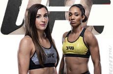 Видео боя Монтана Де Ла Роса — Таила Сантос UFC on ESPN 19