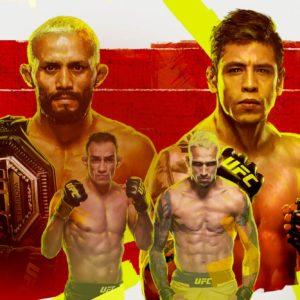 Прямой эфир UFC 256: Дейвисон Фигейреду — Брэндон Морено, Тони Фергюсон — Чарльз Оливейра. Смотреть онлайн