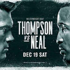 Прямая трансляция UFC Fight Night 183: Стивен Томпсон — Джефф Нил