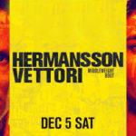 Прямой эфир UFC on ESPN 19: Джек Херманссон — Марвин Веттори. Смотреть онлайн