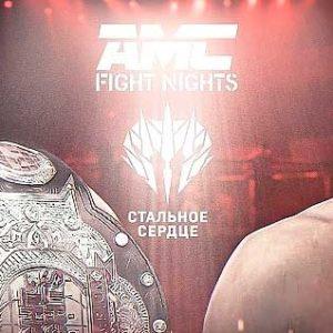 Видео боя Армен Петросян — Дмитрий Минаков AMC Fight Nights & «Стальное сердце»