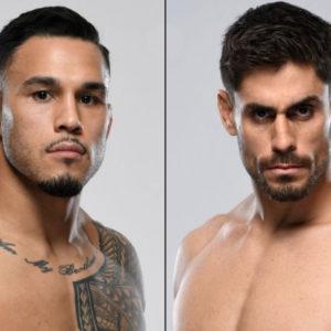 Видео боя Брэд Таварес — Антонио Карлос Джуниор UFC 257