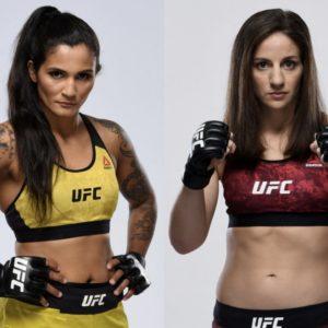 Видео боя Ванесса Мело — Сара Морас UFC on ABC 1