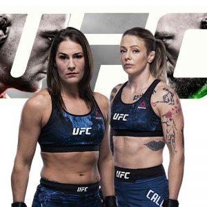 Видео боя Джессика Ай — Джоанн Калдервуд UFC 257
