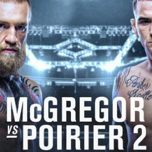 Видео боя Конор МакГрегор — Дастин Порье 2 UFC 257