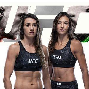Видео боя Марина Родригес — Аманда Рибас UFC 257