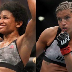 Видео боя Анджела Хилл — Эшли Йодер UFC Fight Night 186