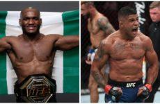 Видео боя Камару Усман — Гилберт Бернс UFC 258