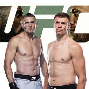 Видео боя Максим Гришин — Дастин Джакоби UFC Fight Night 186