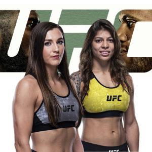 Видео боя Монтана Де Ла Роса — Майра Буэно Сильва UFC Fight Night 186