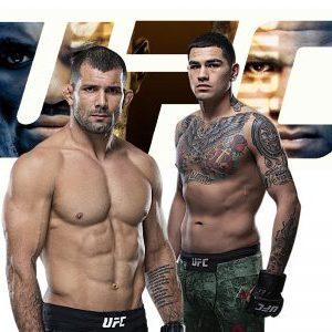 Видео боя Энтони Эрнандес — Родольфо Виейра UFC 258
