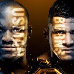 Прямая трансляция UFC 258: Камару Усман — Гилберт Бернс
