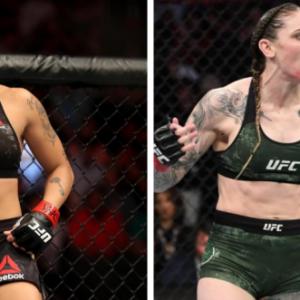 Видео боя Аманда Нуньес — Меган Андерсон UFC 259