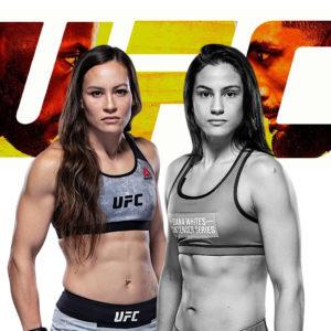 Видео боя Глориа де Паула — Джин Ю Фрей UFC Fight Night 187