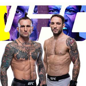 Видео боя Грегор Гиллеспи — Брэд Ридделл UFC on ESPN 21