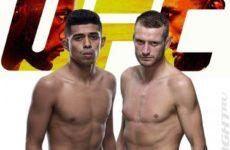 Видео боя Дейви Грант — Джонатан Мартинес UFC Fight Night 187