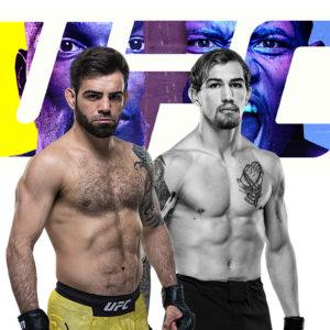 Видео боя Джей Пи Байс — Бруно Силва UFC on ESPN 21
