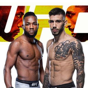 Видео боя Манель Капе — Матеус Николау UFC Fight Night 187