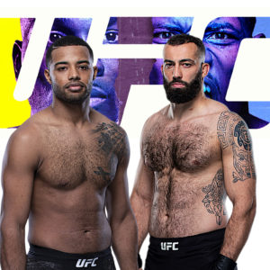 Видео боя Роман Долидзе — Тревин Джайлс UFC on ESPN 21