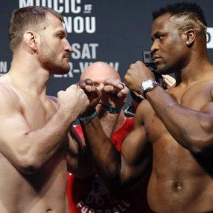 Видео боя Стипе Миочич — Фрэнсис Нганну 2 UFC 260