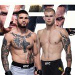Видео боя Шон Брейди — Джейк Мэттьюз UFC 259