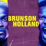 Прямой эфир UFC on ESPN 21: Дерек Брансон — Кевин Холланд. Смотреть онлайн