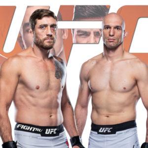 Видео боя Бартош Фабински — Джеральд Миршерт UFC on ESPN 22