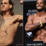 Видео боя Брендан Аллен — Карл Роберсон UFC 261