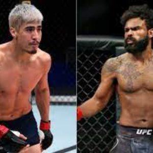 Видео боя Джордан Гриффин — Луис Салдана UFC on ABC 2