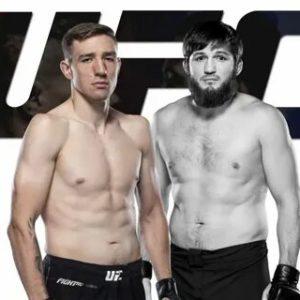 Видео боя Кайл Докос — Алиасхаб Хизриев UFC on ABC 2