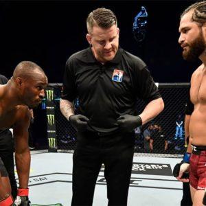 Видео боя Камару Усман — Хорхе Масвидаль 2 UFC 261